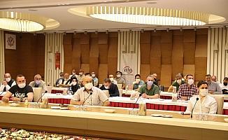 ATO Başkanı Baran, kantincilerin sorunlarını dinledi