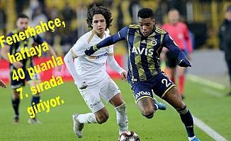 Fenerbahçe, Kayserispor'u ağırlayacak