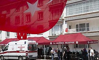 Van'da düşen keşif uçağında şehit olan polis memuru Mustafa Keskin'in ailesine acı haber verildi