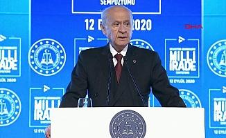 Devlet Bahçeli: Darbe Türkiye'nin on yıllarını çalmıştır