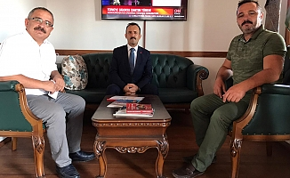 Haluk Teber'den AYD ziyareti
