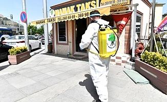 Mamak'ta dezenfeksiyon çalışmaları devam ediyor