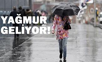 Meteoroloji uyardı!  13 il'de sağanak ve gök gürültülü sağanak yağış.