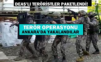29 Ekim ve 10 Kasım'da saldıracaklardı: 7 terörist Ankara'da yakalandı