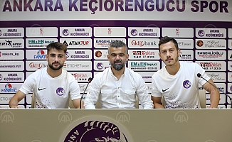 Ankara Keçiören gücü, 2 futbolcuyu kadrosuna kattı