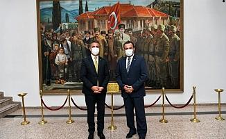 Ankara Kent Konseyi'nden Başkan Köse'ye ziyaret