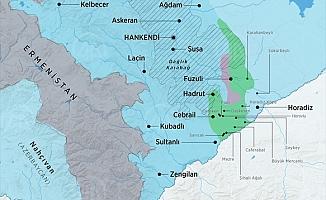 Azerbaycan ordusu Hadrut kasabasını ve birkaç köyü işgalden kurtardı
