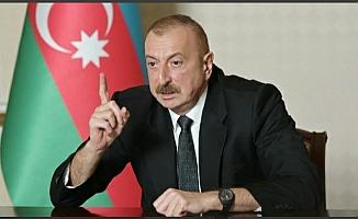 Aliyev'den açıklama: Fuzili şehri ile 7 köy kurtarıldı