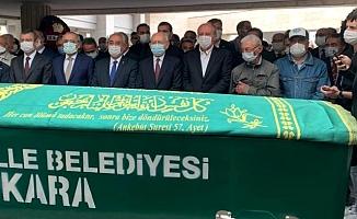 Kılıçdaroğlu ve İnce, Bekir Coşkun'un cenazesinde yan yana saf tuttu