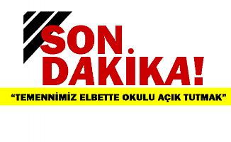 Milli Eğitim Bakanı Selçuk'tan okulların açılmasıyla ilgili açıklama!
