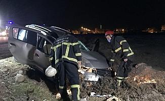 Aksaray'da otomobil ile kamyonet çarpıştı: 5 yaralı