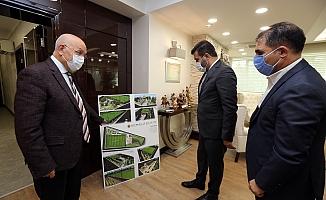 Başkan Yaşar, Ankaragücü yönetimini ağırladı