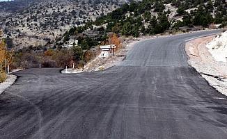 Beypazarı'nda asfaltlama çalışmaları