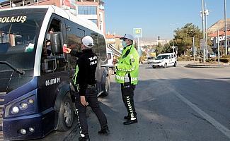 Beypazarı'nda toplu taşıma araçlarında HES kodu sorgulaması