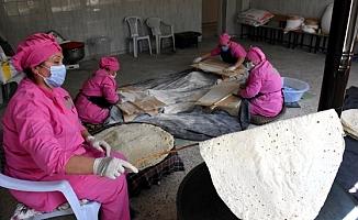 Kırşehir'de yöresel yufka ve erişte üretimi kadınların geçim kaynağı oldu