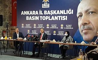 AK Parti Grup Başkanvekili Köse'den Yavaş'a büyük tepki!