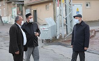 Başkan Ahmet Çolakbayrakdar, Yemliha Mahallesi'ni ziyaret etti
