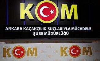 Başkentte kaçakçılık operasyonlarında 11 kişi gözaltına alındı