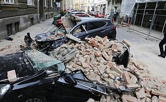 Hırvatistan'da 6,3 büyüklüğünde deprem