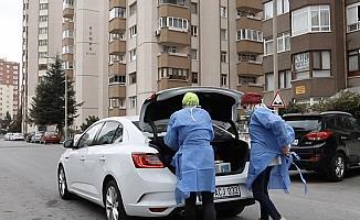 Kayseri Büyükşehir Belediyesinden sağlık çalışanlarına araç ve personel desteği