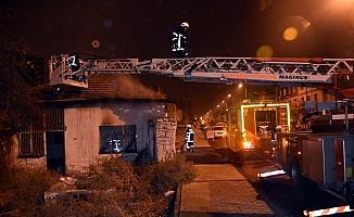 Kayseri'de müstakil evde çıkan yangın söndürüldü