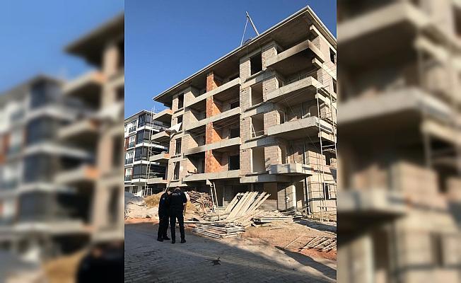 Kırıkkale'de inşaattan düşen işçi yaralandı