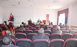 Ulaş'ta SYDV mütevelli heyeti seçimi yapıldı