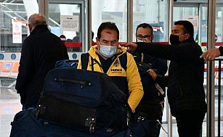 Villarreal kafilesi Sivas'a geldi