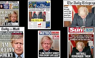Dünya Boris Johnson'ı konuşuyor! Başını öne eğdi, gözlerini kapattı ve açıkladı