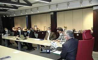 Kayseri Büyükşehir Belediyesinde ulaşım toplantısı
