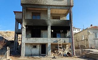 Kayseri'de bir evde çıkan yangın söndürüldü