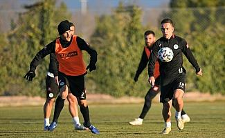 Konyaspor'da Gençlerbirliği maçı hazırlıkları başladı