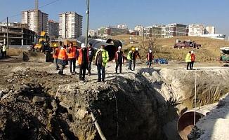 Polatlı'yı kesintisiz sağlıklı suya kavuşturacak çalışmalar hızla ilerliyor