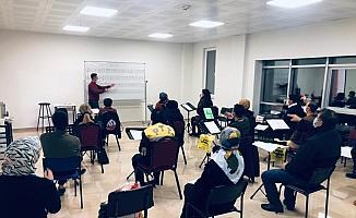 Sivas'ta Halk Eğitimi Merkezi kursları yeniden başladı