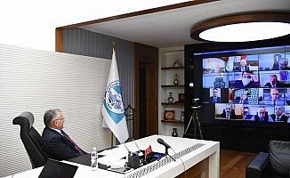 Büyükşehir Belediye Başkanı Büyükkılıç, İl Umumi Hıfzıssıhha Kurulu Toplantısı'na katıldı