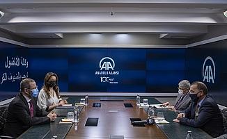 Cezayir'in Ankara Büyükelçisi Adcabi, AA'yı ziyaret etti