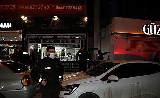 Çubuk'ta çıkan kavgada bir kişi yaralandı