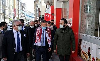 İYİ Parti Genel Başkan Yardımcısı Ağıralioğlu, Sivas'ta ziyaretlerde bulundu