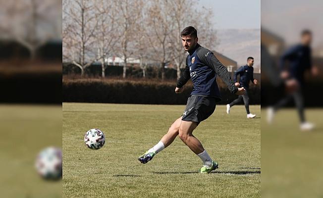 Kayserispor, Çaykur Rizespor maçının hazırlıklarını sürdürdü
