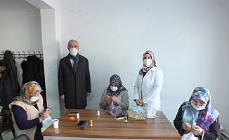 Ulaş'ta basit nakış iğne teknikleri kursu açıldı