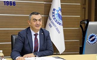 Vakıfbank Bölge Müdürü Cihad Akyol'dan KAYSO Başkanı Büyüksimitci'ye ziyaret