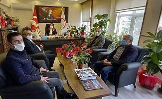 AK Parti Beypazarı İlçe Başkanı Gökgöz'den İlçe Tarım Orman Müdürlüğüne ziyaret