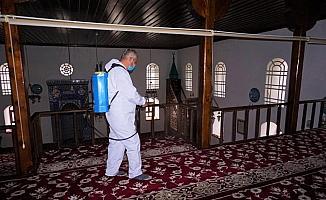 Beypazarı'nda Kovid-19'a karşı dezenfekte çalışması sürüyor