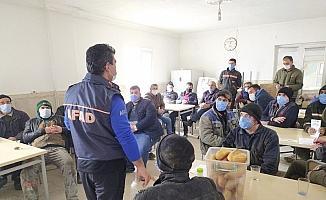 Kırşehir OSB çalışanlarına afet farkındalık eğitimi verildi
