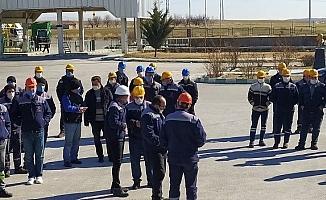 Kırşehir'de şeker fabrikası çalışanları ve ailelerine afet farkındalık eğitimi verildi