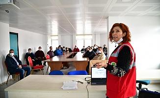 Mamak'ta personele iş sağlığı ve güvenliği eğitimi