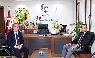 Beypazarı Kaymakamı Bozdemir'den yeni Orman Müdürüne ziyaret