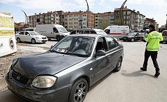 Çubuk'ta trafik kazasında 1 kişi yaralandı