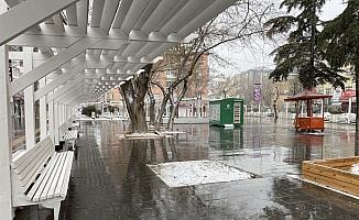 İç Anadolu'da sokağa çıkma kısıtlaması nedeniyle sessizlik hakim