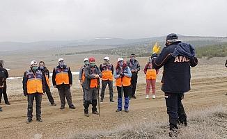 Kırşehir'de AFAD gönüllülerine arama kurtarma eğitimi verildi